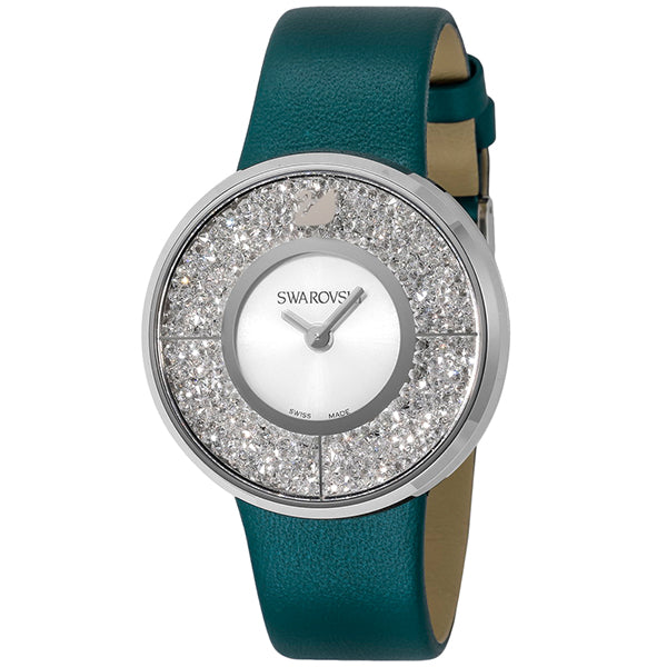 Crystalline Green-Blue Ladies Watch