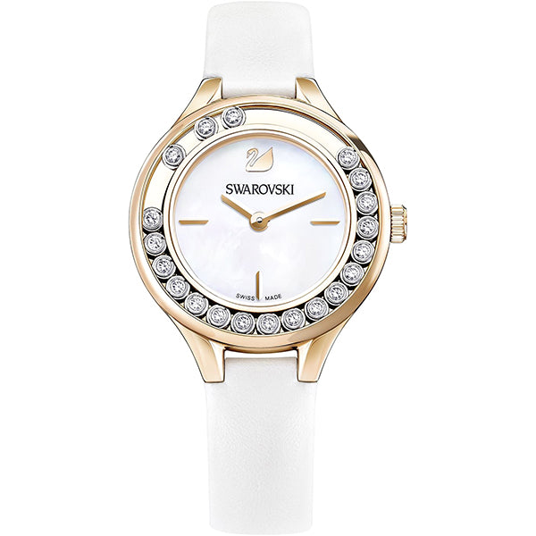 Lovely Crystals Mini White Ladies Watch