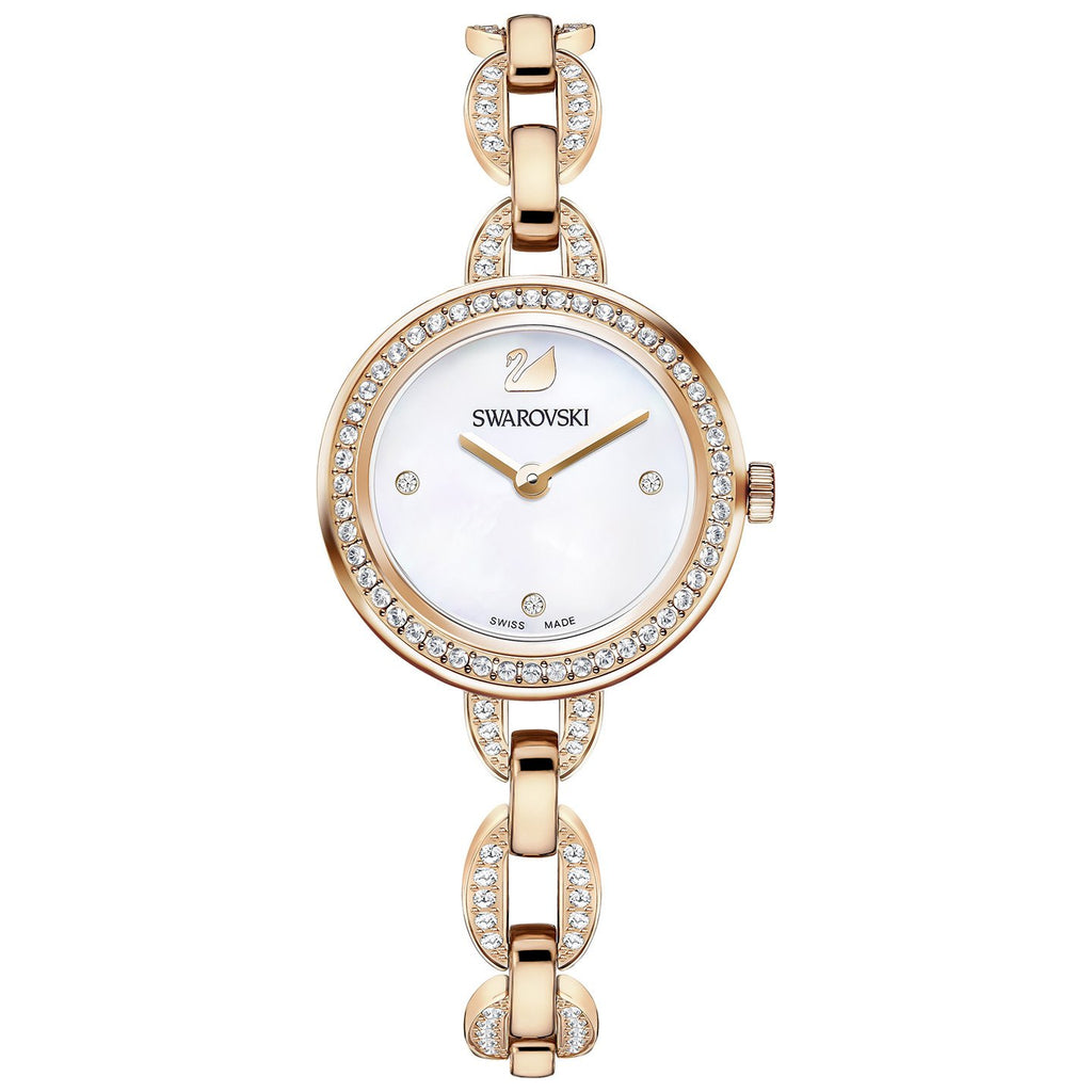 Aila Rose Gold Stainless Steel Bracelet Ladies Watch