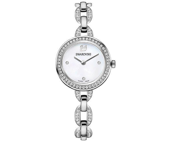 Aila Silver Stainless Steel Bracelet Ladies Watch