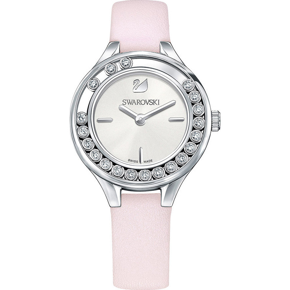 Lovely Crystals Mini Pink Ladies Watch