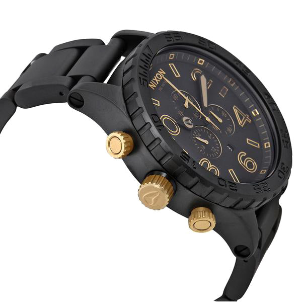 51-30 Chronograph Matte Black Analog Men's Watch