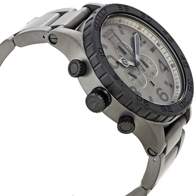 51-30 Chronograph Gunmetal Dial Men's Watch A0831062