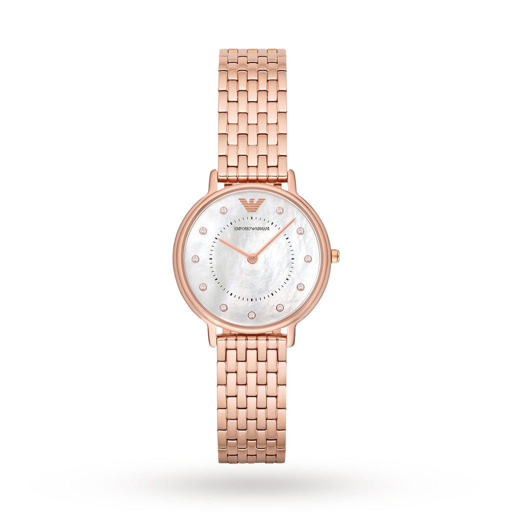 Rose Gold-Tone Stainless Steel Ladies Watch