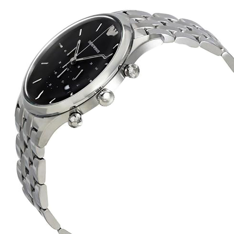 Black Dial Men's Chronograph Watch