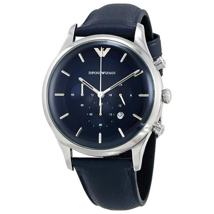 Blue Dial Men's Chronograph Watch