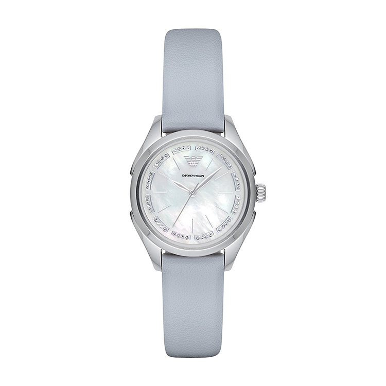 Armani Valeria Mother Of Pearl Dial Ladies Watch
