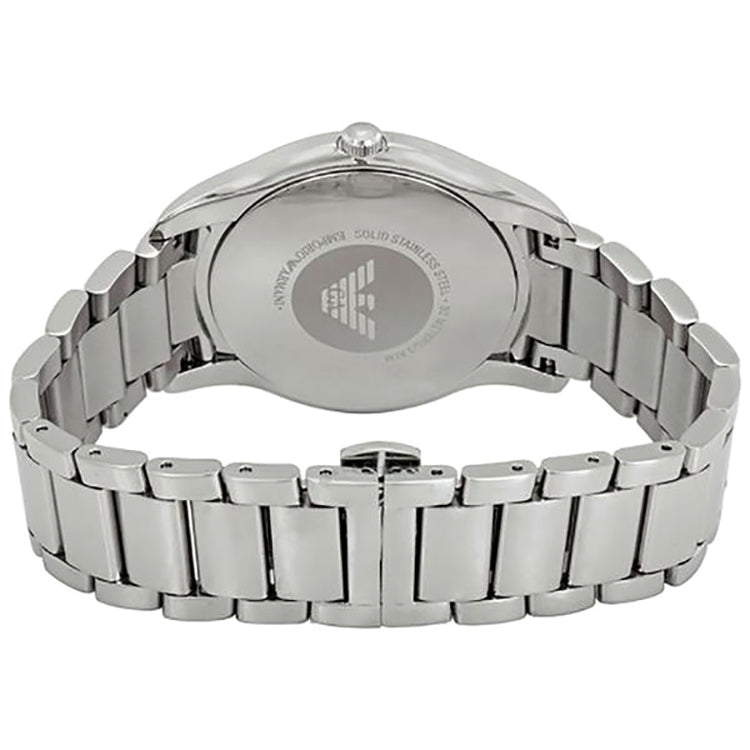 Silver Dial Men's Stainless Steel Watch