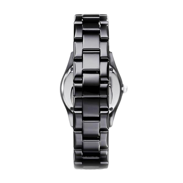 Ceramica Black Dial With Sub Dial Black Ceramic Ladies' Watch