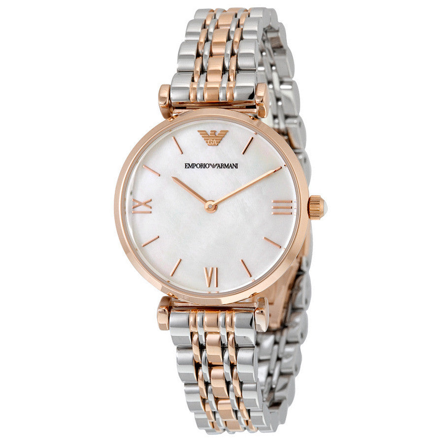 Classic Mother Of Pearl Dial Ladies Watch