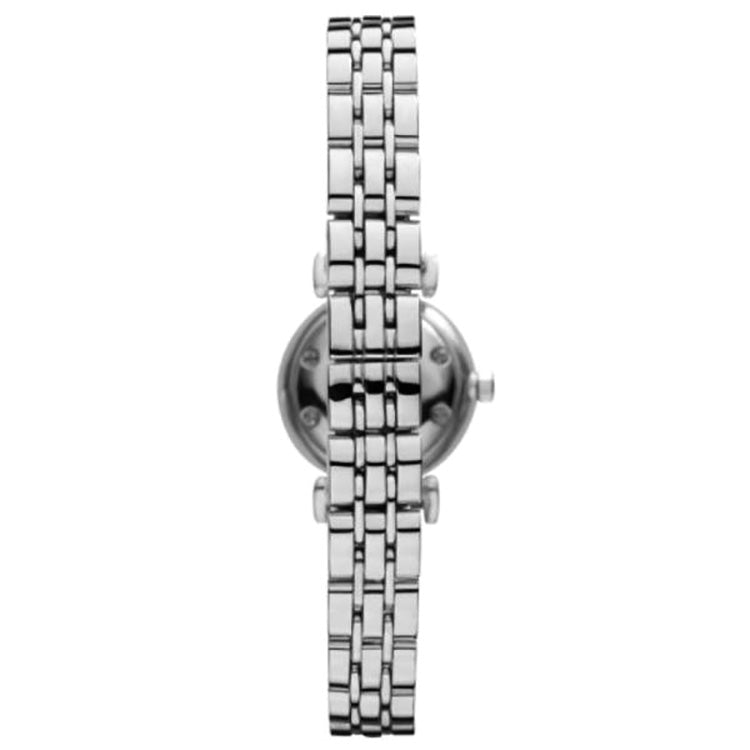 Mother of Pearl Dial Stainless Steel Ladies Watch