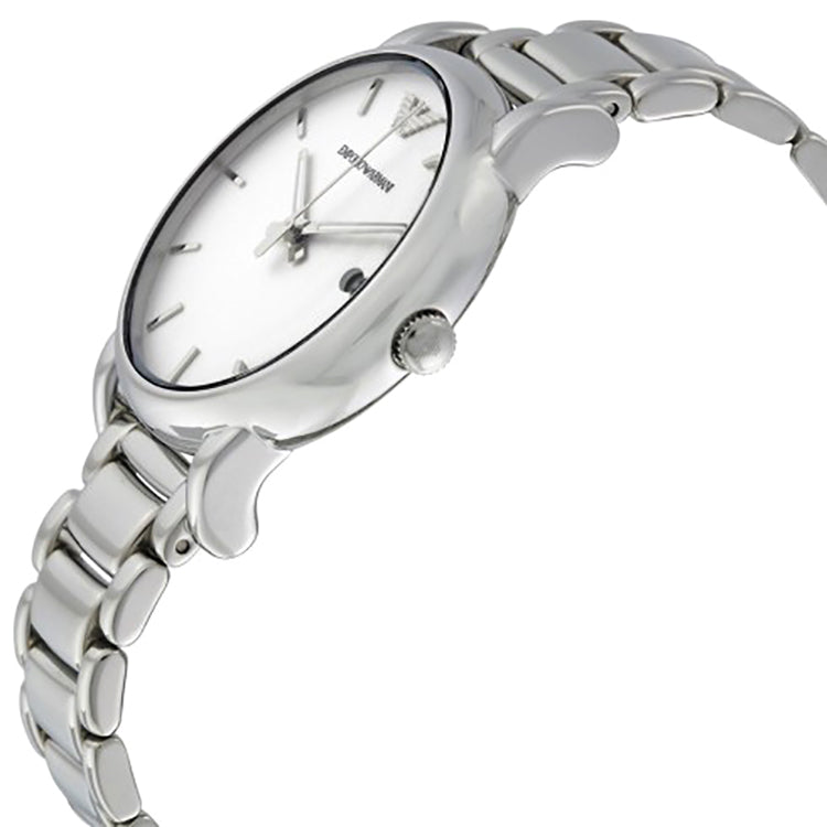 Classic White Dial Men's Watch