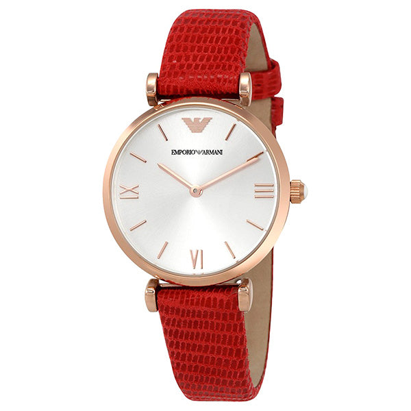 Classic Silver Dial Ladies Dress Watch