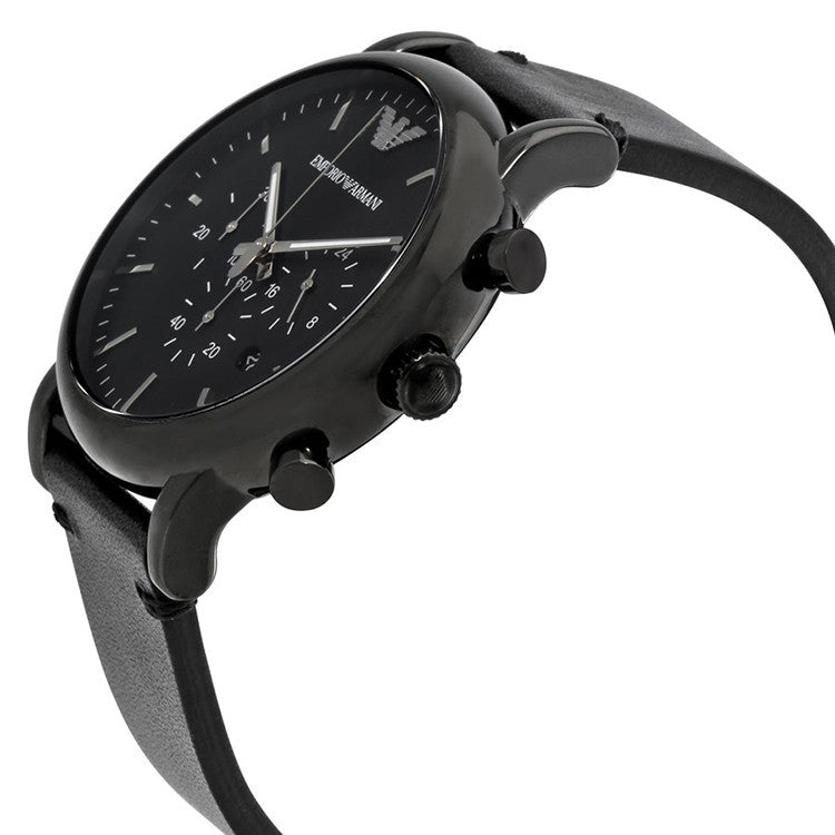 Dress Chronograph Black Dial Men's Watch