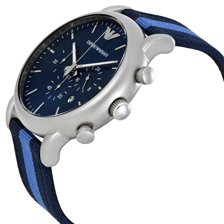 Luigi Navy Blue Dial Men's Chronograph Watch