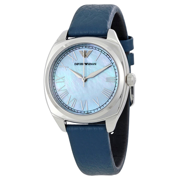 Dress Blue Mother Of Pearl Dial Ladies Watch