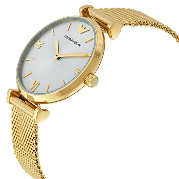 Retro Gold Tone Dial Ladies Watch
