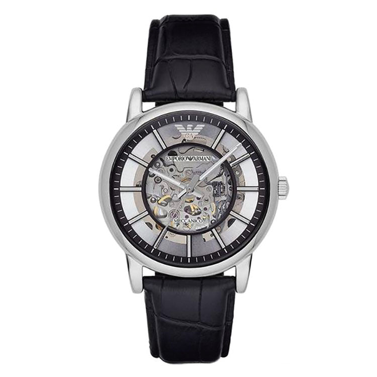 Luigi Meccanico Skeleton Dial Automatic Men's Watch