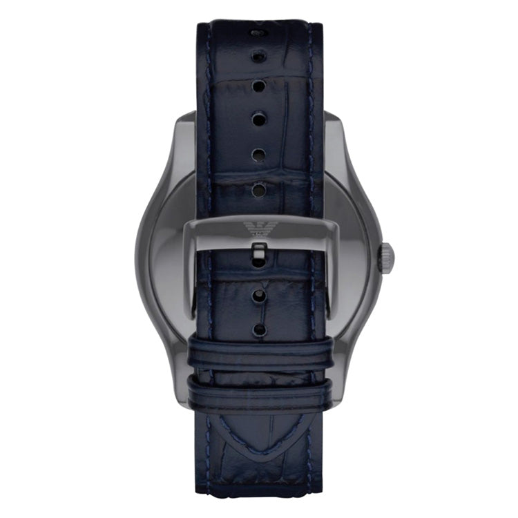 Navy Blue Analogue Mens' Watch
