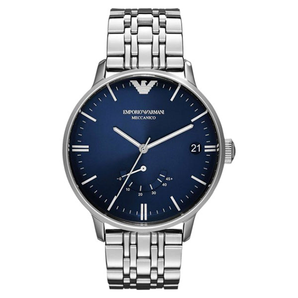 Emporio Meccanico Blue Dial Automatic Men's Watch