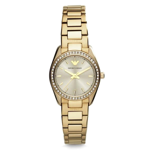 Gold Tone Stainless Steel Ladies Watch
