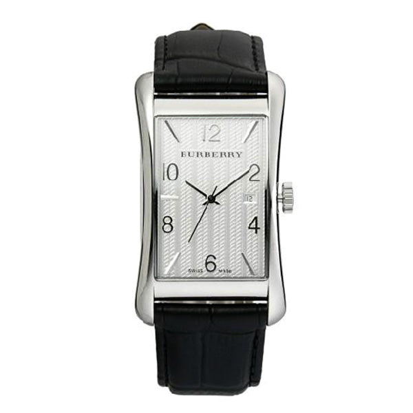 Heritage Black Leather Men's Watch