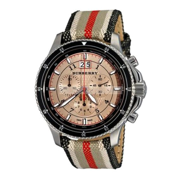 Endurance Chronograph Rose Gold Dial Men's Watch