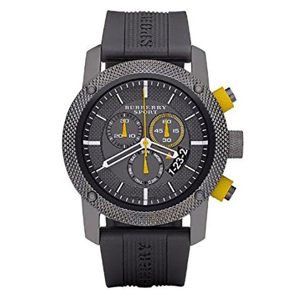 Endurance Chronograph Grey Ion-Plated Stainless Steel Watch