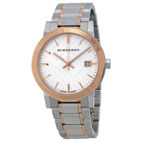 Silver Dial Two-Tone Stainless Steel Unisex Watch