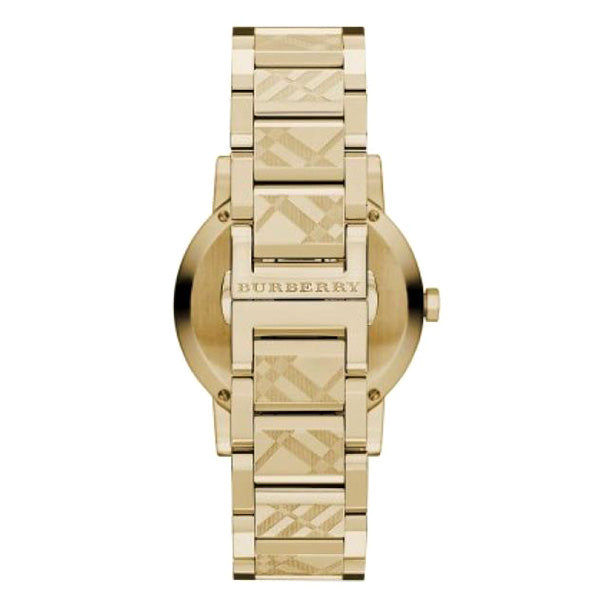 The City Gold Dial Gold Stainless Steel Swiss Men's Watch