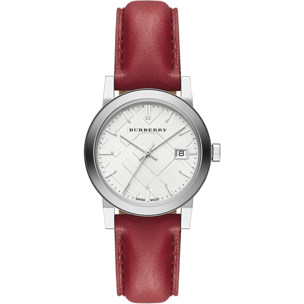 The City Chronograph White Dial Ladies' Watch