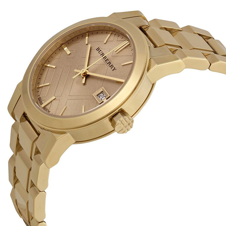 Light Champagne Dial Light Gold-tone Ladies Watch