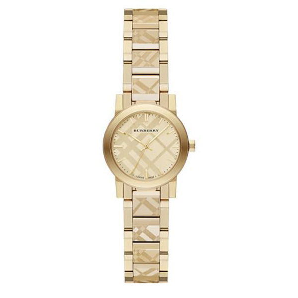The City Chronograph Gold Tone Stainless Steel Ladies' Watch
