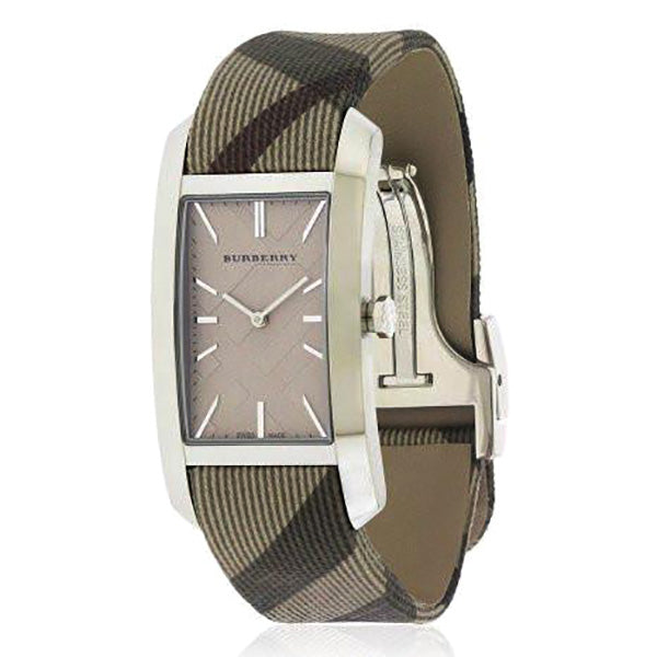 Heritage Nova Check Leather Unisex Watch