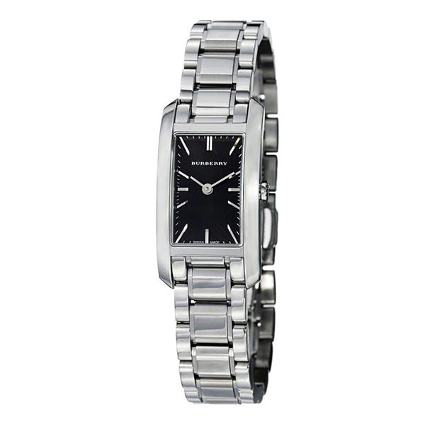 Heritage Black Dial Stainless Steel Ladies' Watch