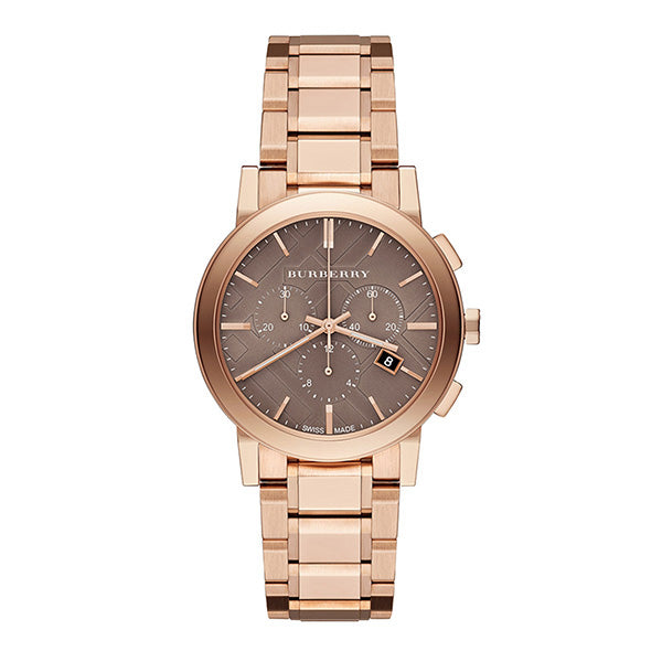 The City Chronograph Rose Gold Ion-plated Stainless Steel Ladies' Watch