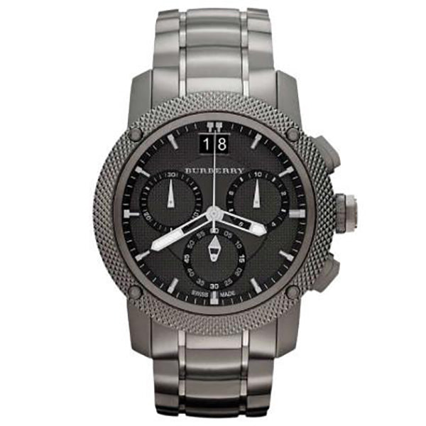 Endurance Chronograph Black Ion-Plated Stainless Steel Watch