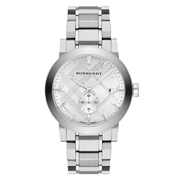 The City Silver Dial Stainless Steel Men's Watch