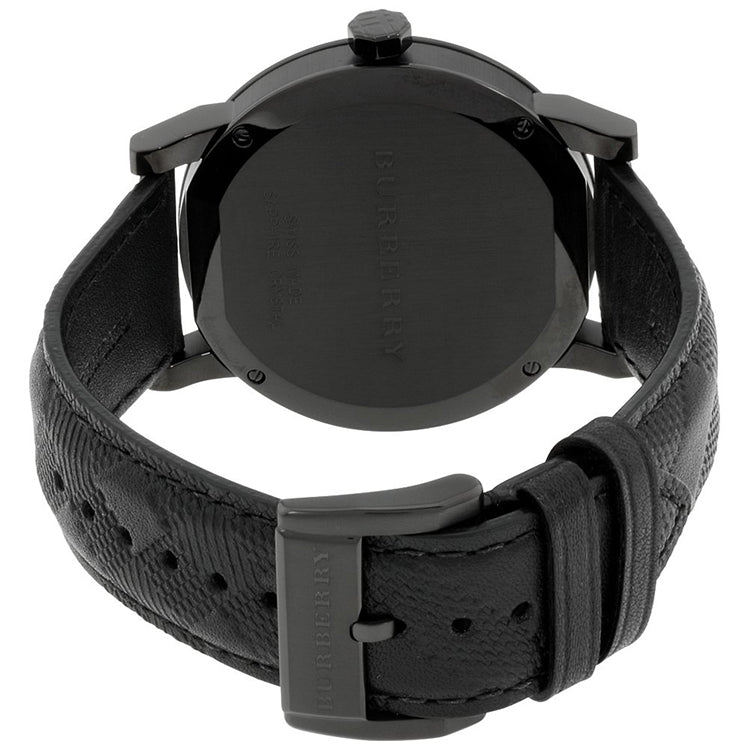 The City Black Ion-Plated Dial Men's Watch