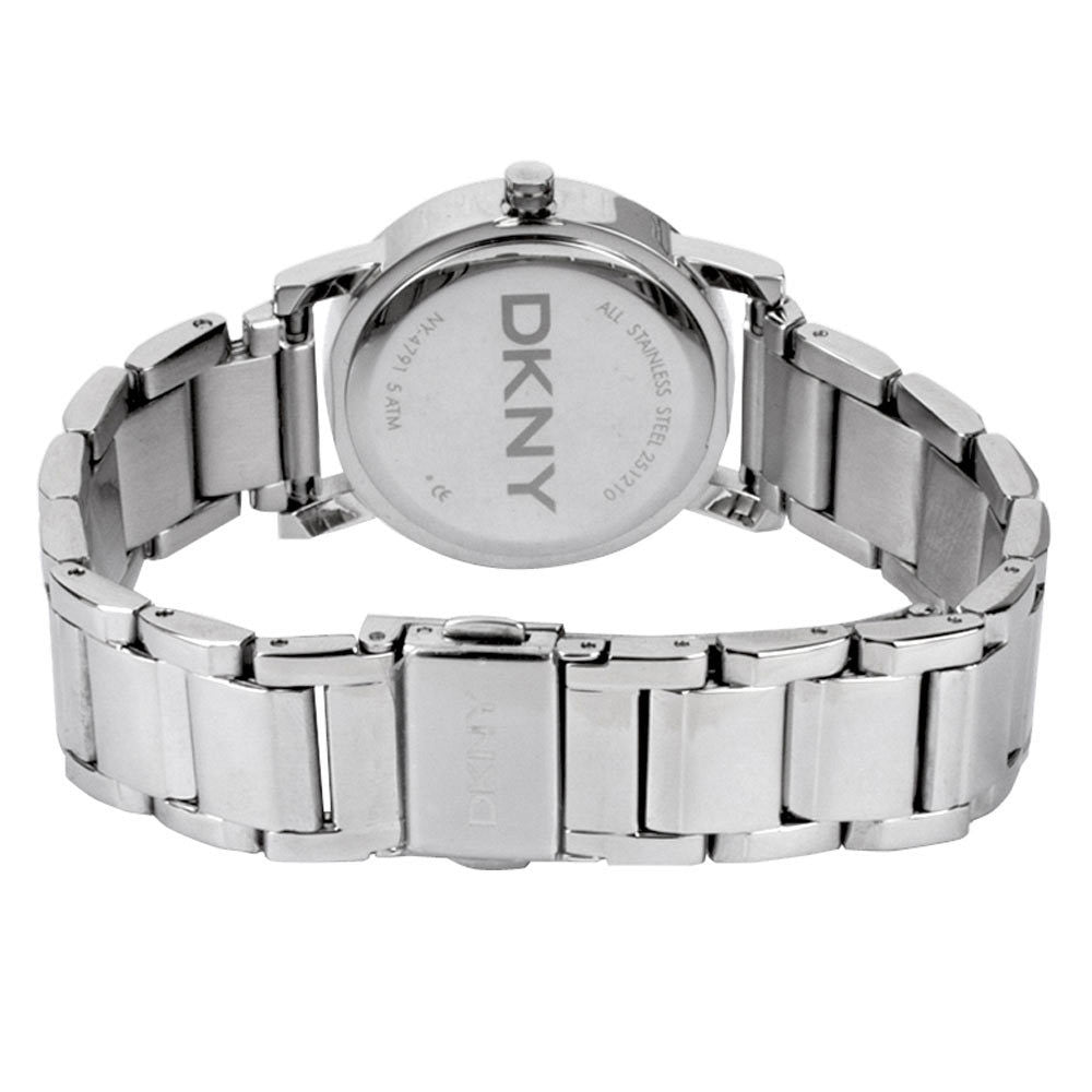 Mother of Pearl Dial Stainless Steel Casual Ladies Watch
