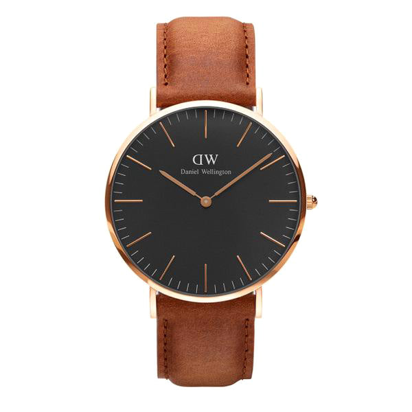 Classic Black Durham Rose Gold 40mm Men's Watch