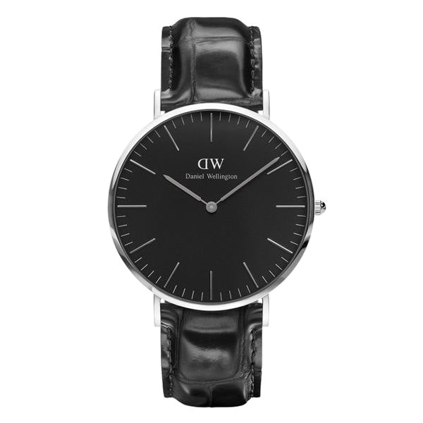 Classic Black Reading Silver 40mm Men's Watch