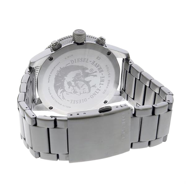 Rasp Chronograph Silver Sunray Dial Men's Watch