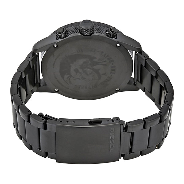 Rasp Black Sunray Dial Men's Chronograph Watch