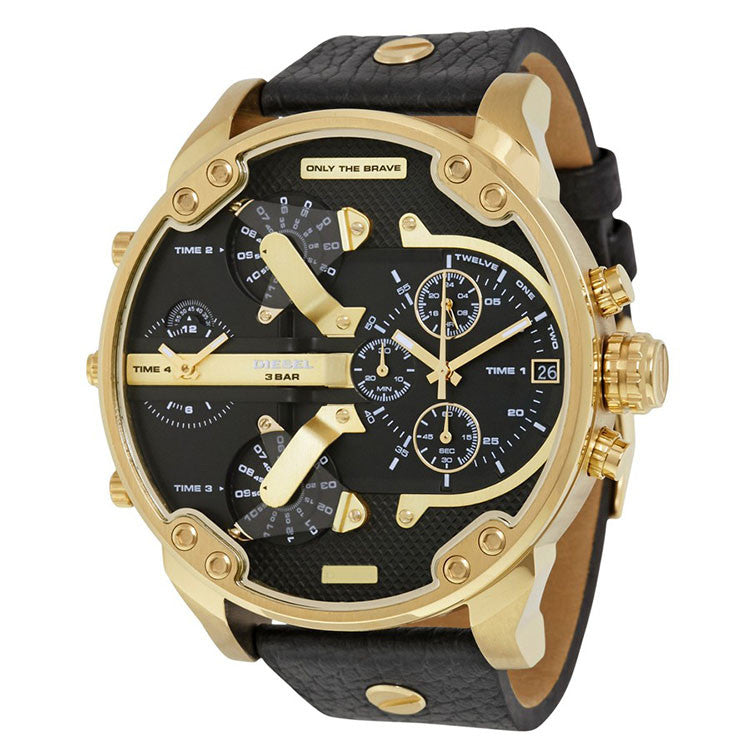 Mr. Daddy 2.0 Black Dial Men's Chronograph Watch