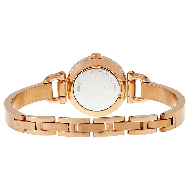 Georgia Rose Dial Rose Gold-tone Ladies Watch
