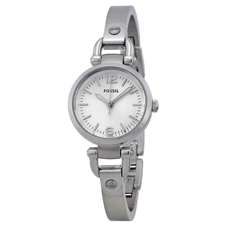 Georgia Mini Silver Dial Stainless Steel Ladies Watch