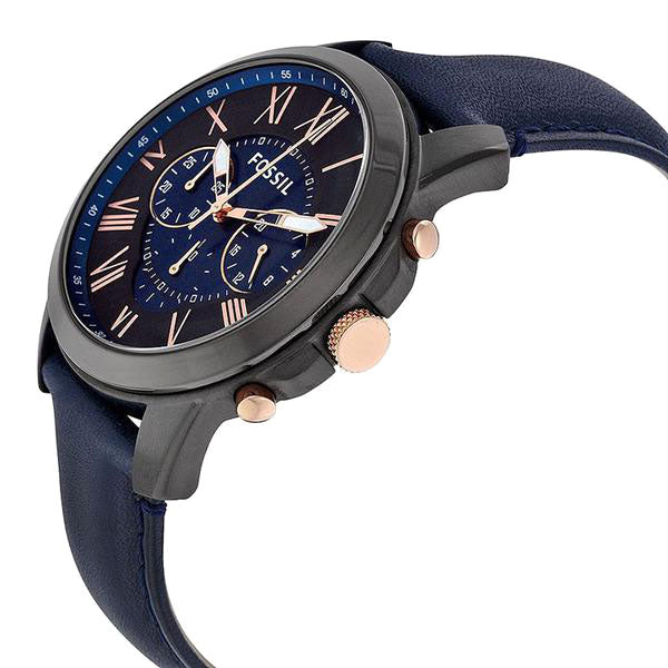Grant Chronograph Black and Blue Dial Men's Quartz Watch