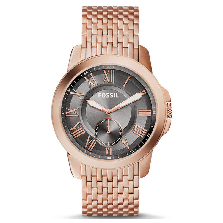 Grant Rose Gold Stainless Steel Men's Watch