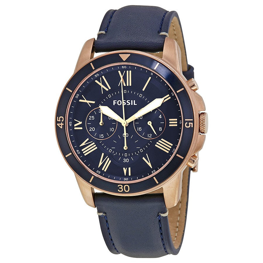 Grant Sport Blue Dial Men's Chronograph Watch